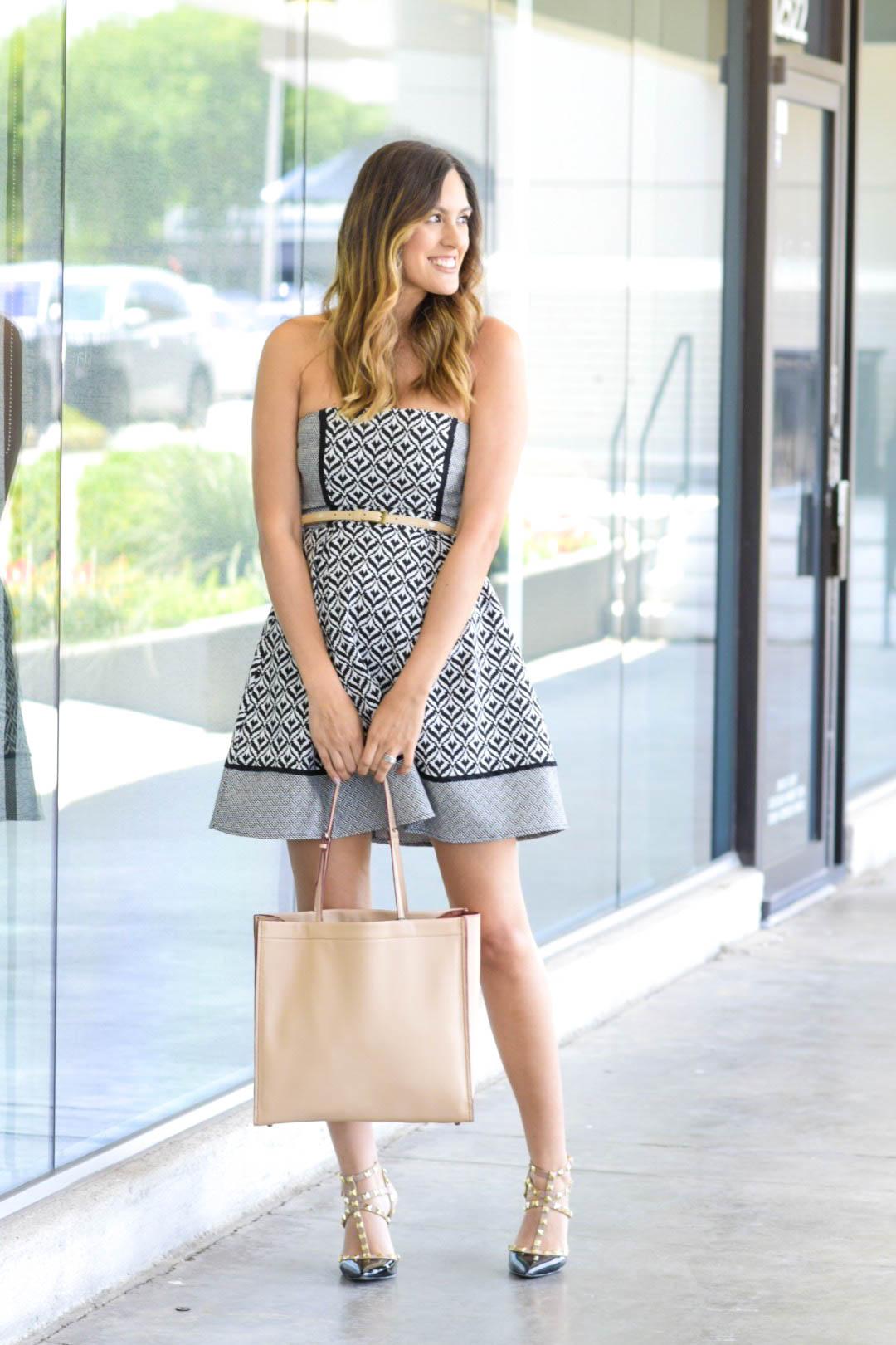 style the girl pattern dress 1