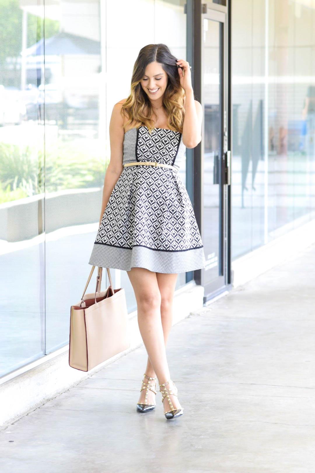 style the girl pattern dress 2