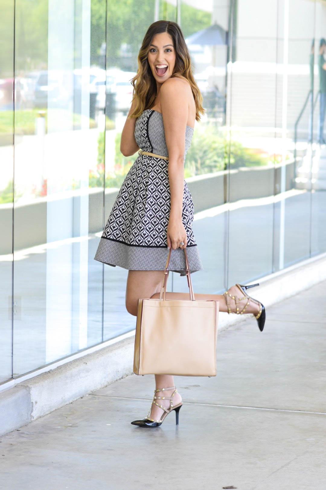 style the girl pattern dress 4