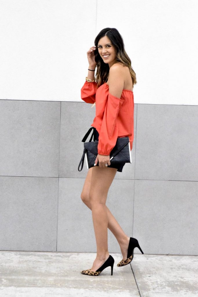 style the girl red top4