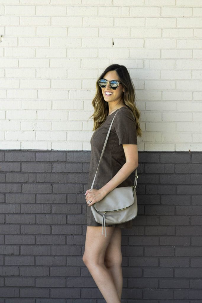 style the girl suede dress2