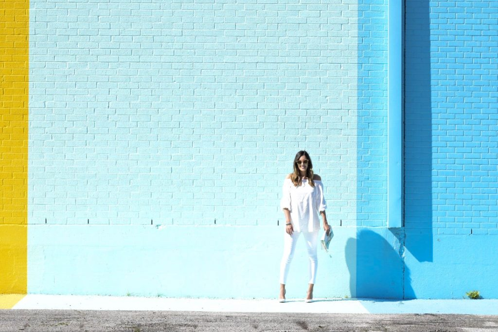 style the girl white look1