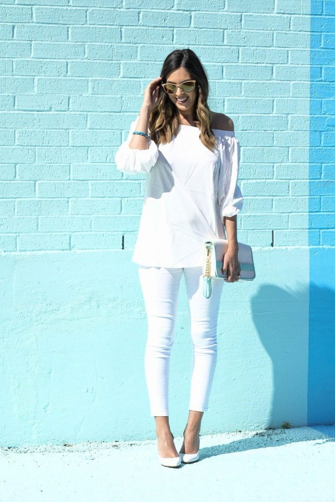 style the girl white look3