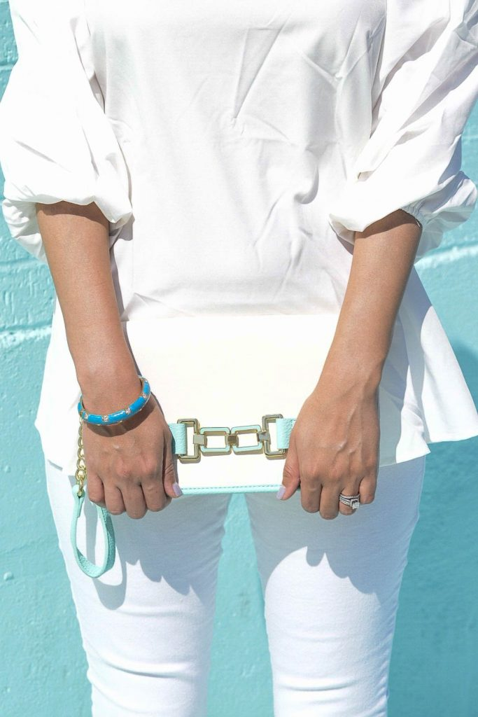 style the girl white look4