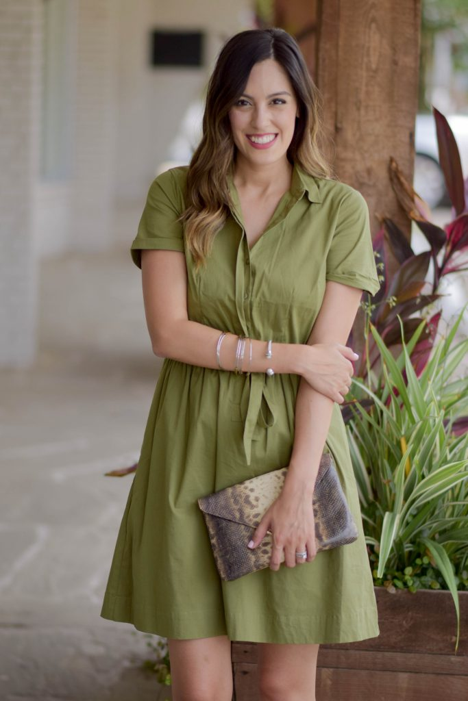 style the girl green tie front dress 18