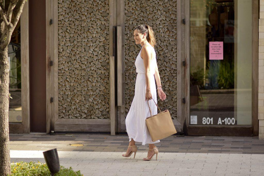 Style The Girl White Maxi Dress 3