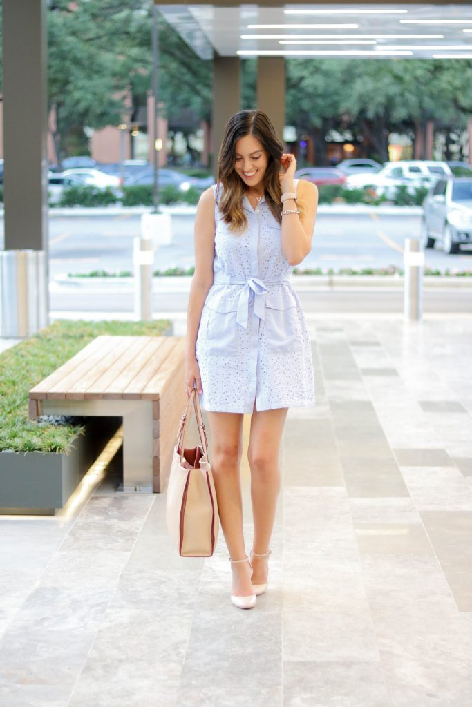 Style The Girl Blue Tie Dress 10