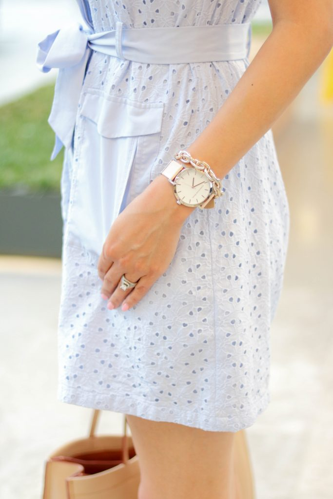 Style The Girl Blue Tie Dress 13