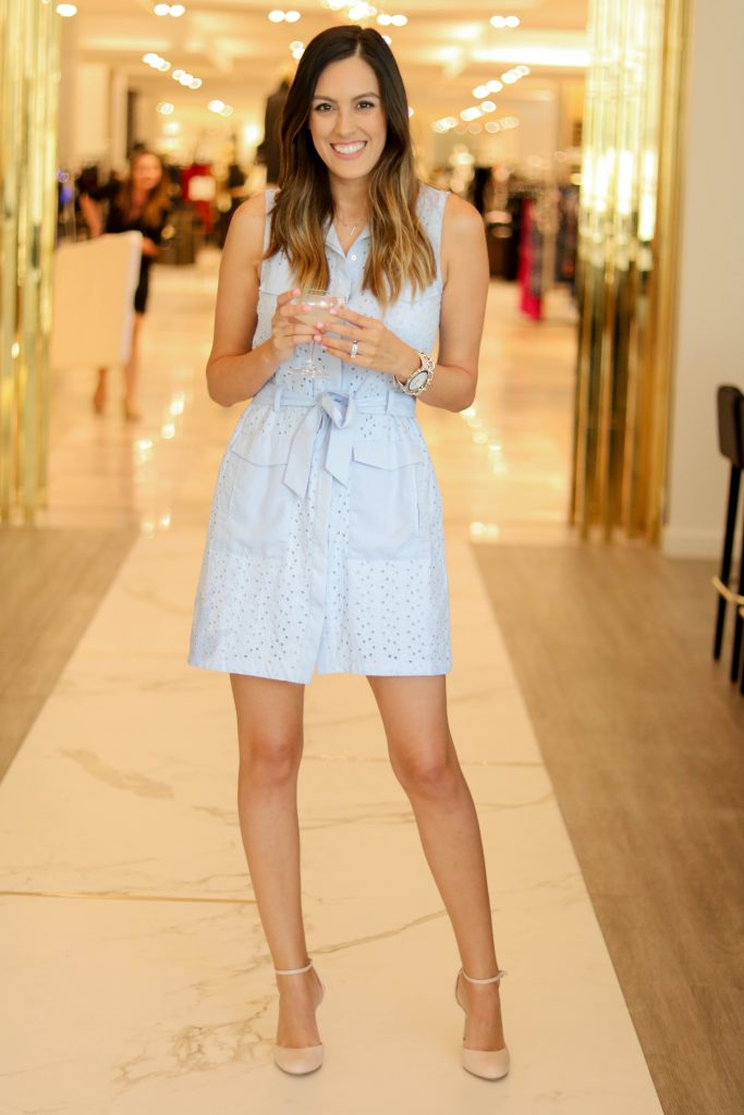 Style The Girl Blue Tie Dress 6