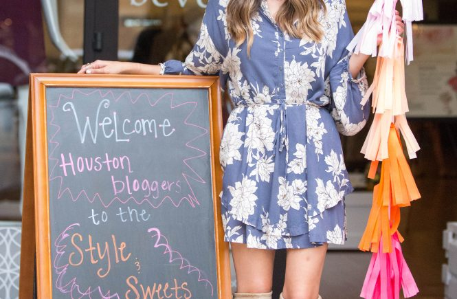 style & sweets blogger event