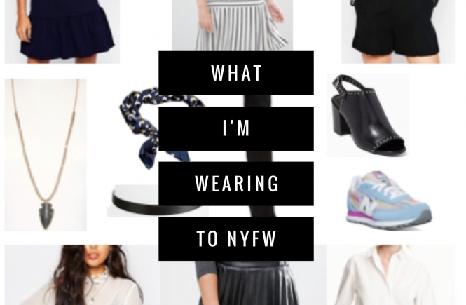 what I'm wearing to nyfw