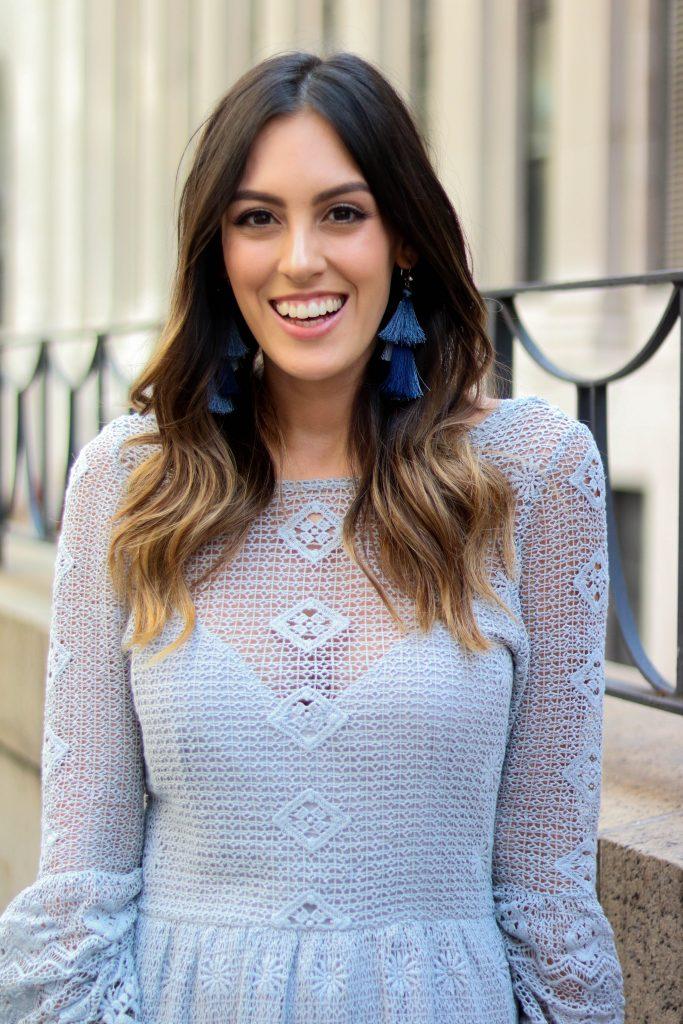 for love and lemons crochet bell sleeve dress