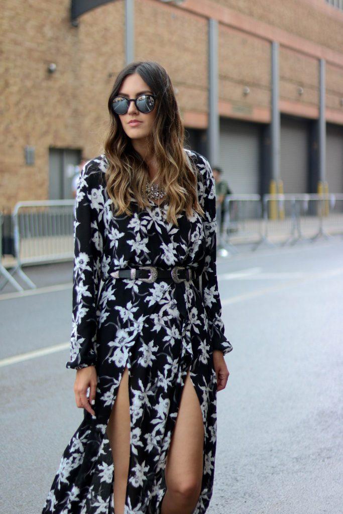 floral slip maxi dress