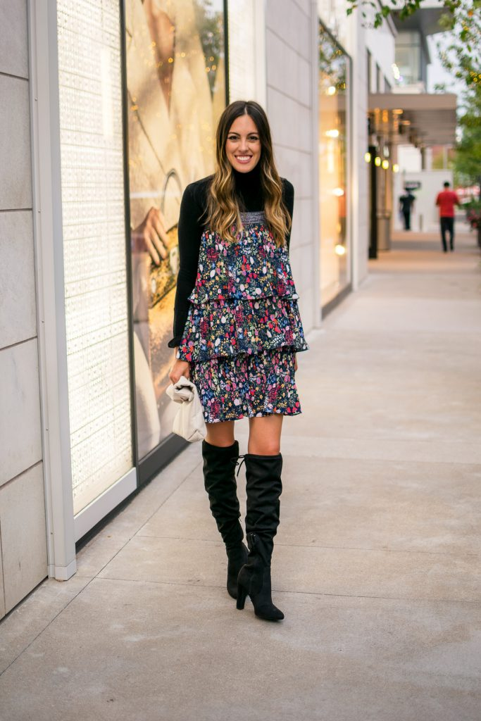 Floral Maxi Skirt Worn Two Ways