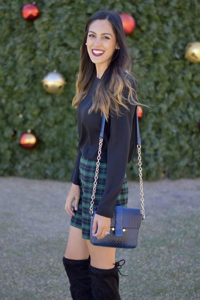 style-the-girl-green-plaid-skirt-10