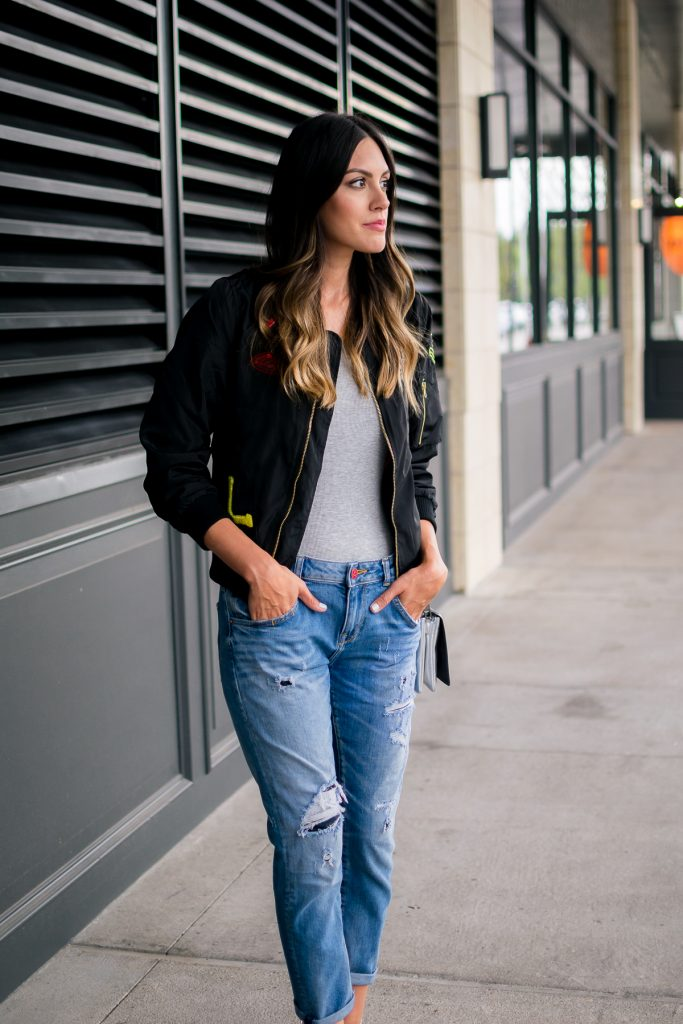 style the girl bomber jacket