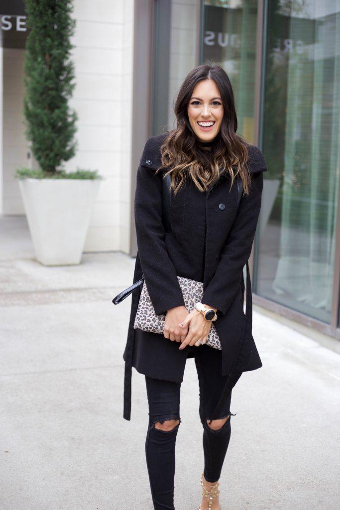Black Bell Sleeve Lace Top Stylethegirl