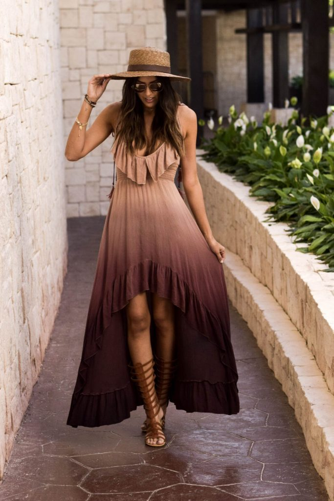 Style The Girl Hi Low Dress