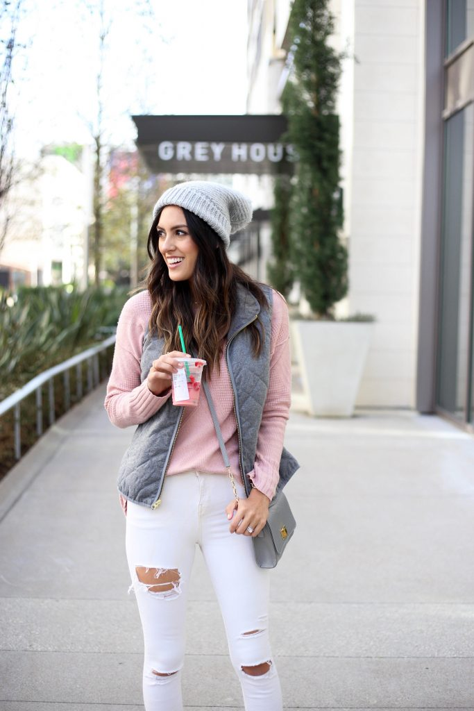 Style The Girl Pink and Grey