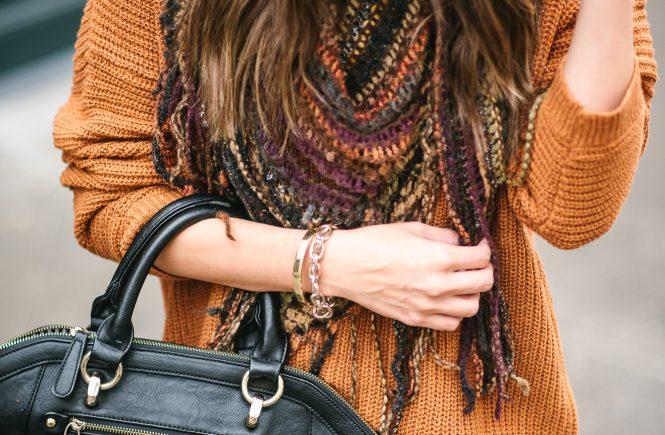 style the girl fringe sweater