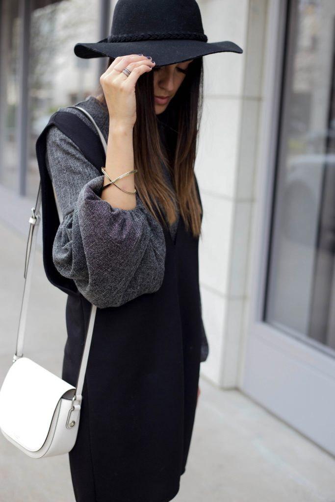 Style The Girl Billow Sleeve Dress