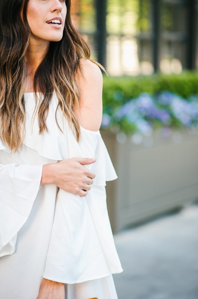 Style The Girl Cold Shoulder Dress