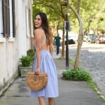 Style The Girl Striped Midi Dress