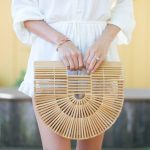 Style The Girl White Romper, Straw Hat and Cult Gaia Bag