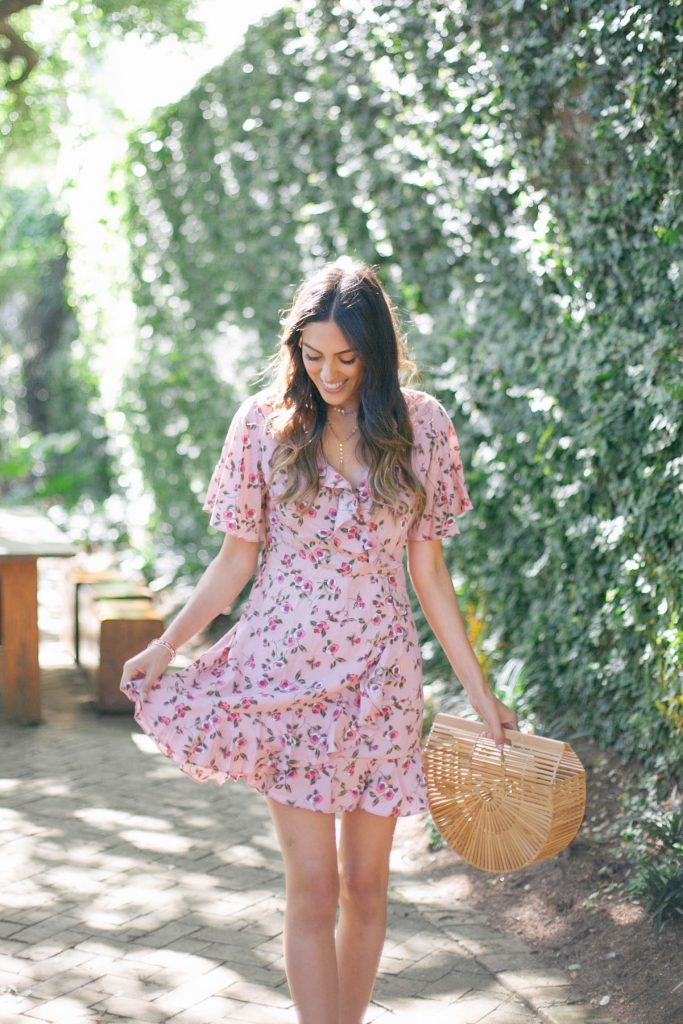 Style The Girl Floral Wrap Dress