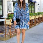 Style The Girl Blue Detailed Dress