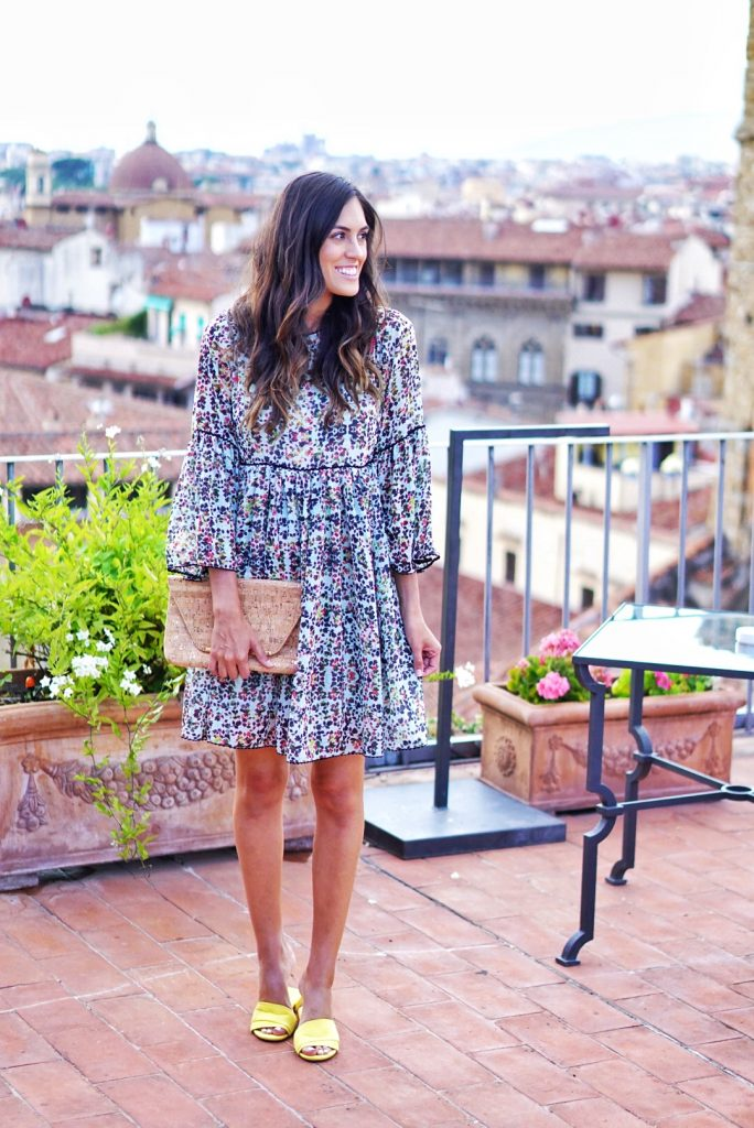 Style The Girl Anthropologie Embroidered Tunic Dress