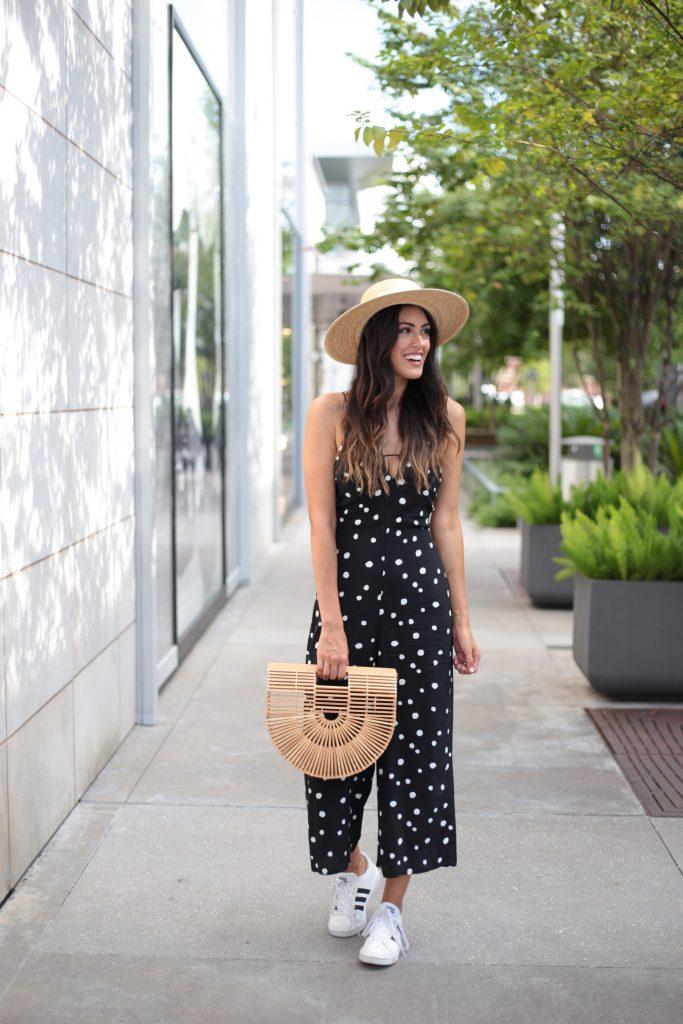 Style The Girl Polka Dot Romper