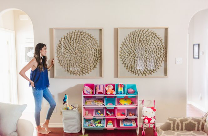 Style The Girl and Gallery Furniture Art Work