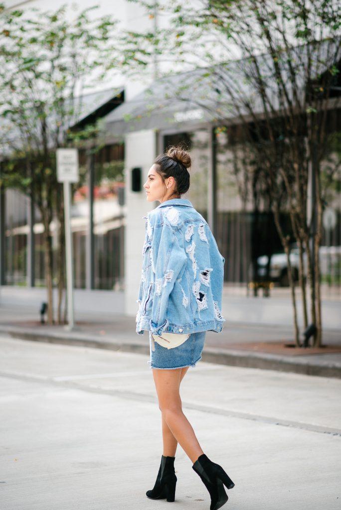 Style The Girl Denim On Denim Look