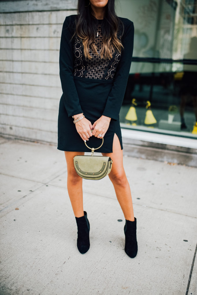 Style The Girl Little Black Dress for NYFW and Rent The Runway