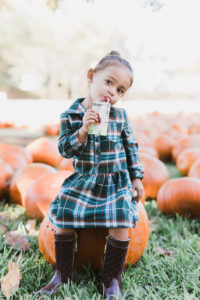 Style The Girl Pumpkin Patch Mommy and Me Look
