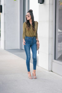 Style The Girl Green Bodysuit