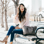 Style The Girl Blush Bell Sleeve Top