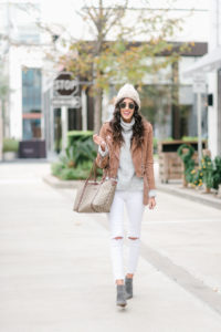 Style The Girl How To Wear White in Winter