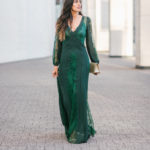 Style The Girl The Perfect Emerald Maxi Dress for New Years