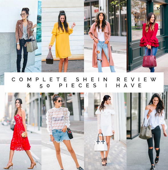 856a0a3faf What You Have Been Asking For: My Shein Review & 50 Pieces I Own ...