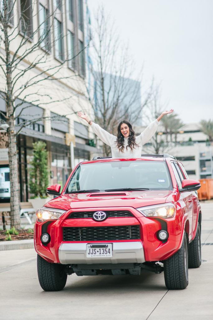 Style The Girl Toyota Valentine's Day Partnership