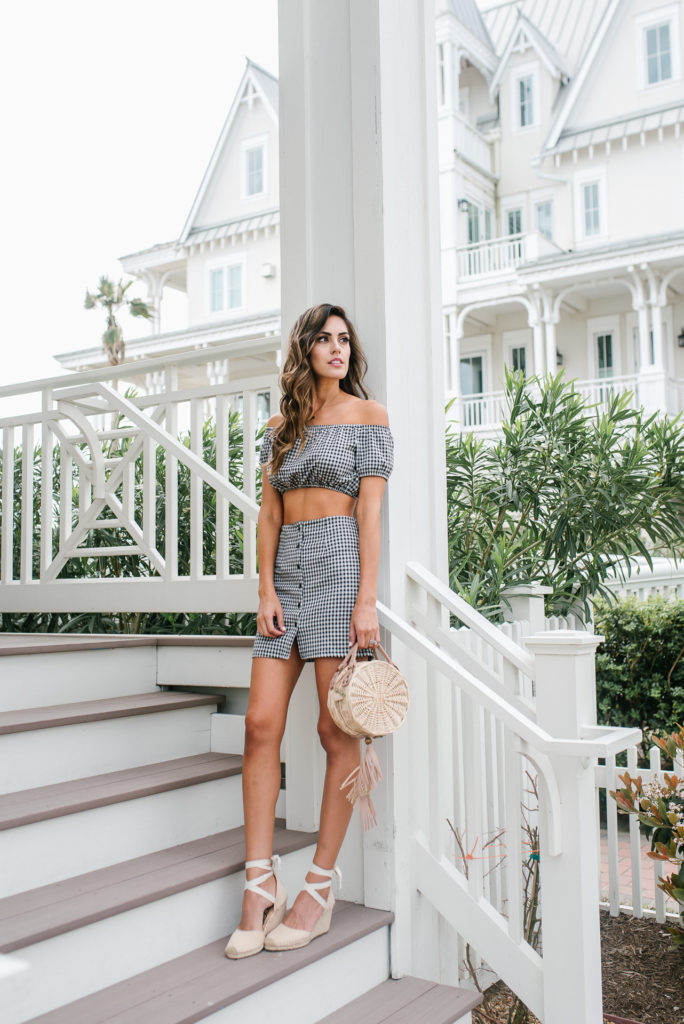 Style The Girl The Gingham Two Piece You Want This Season