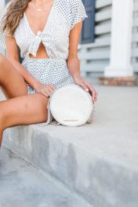 Style The Girl Polka Dot Romper Under $50