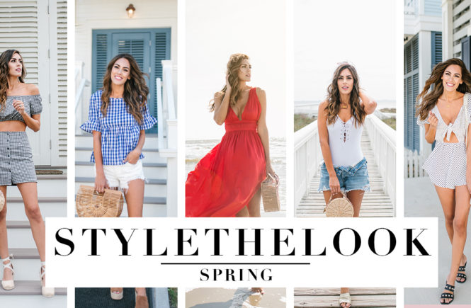 Style The Girl Spring Lookbook