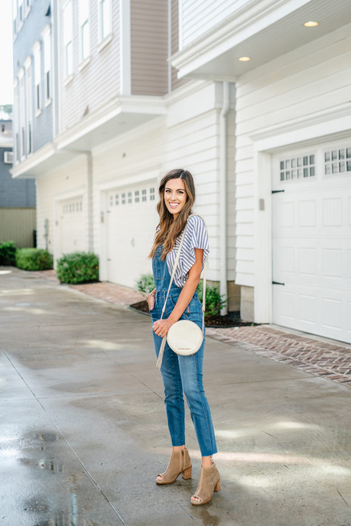 Style The Girl Madewell Overall Look