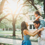 Family Photos at Rice University