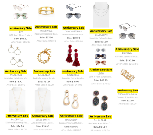 Nordstrom Anniversary Sale 2018 Preview Accessories