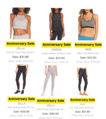 Nordstrom Anniversary Sale 2018 Preview Athletics