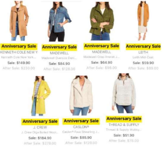 Nordstrom Anniversary Sale 2018 Preview Jackets